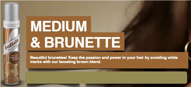Medium brown brunette