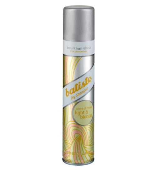 Batiste Dry Shampoo, Light & Blonde 200ml